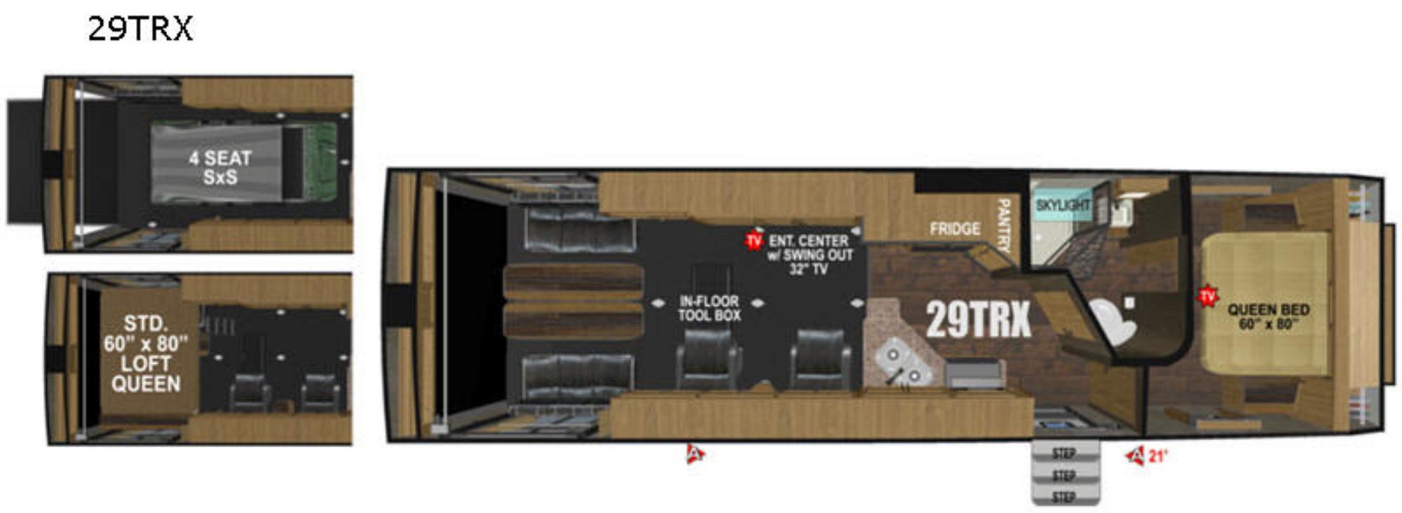Garage : 2019-OUTDOORS RV-29TRX