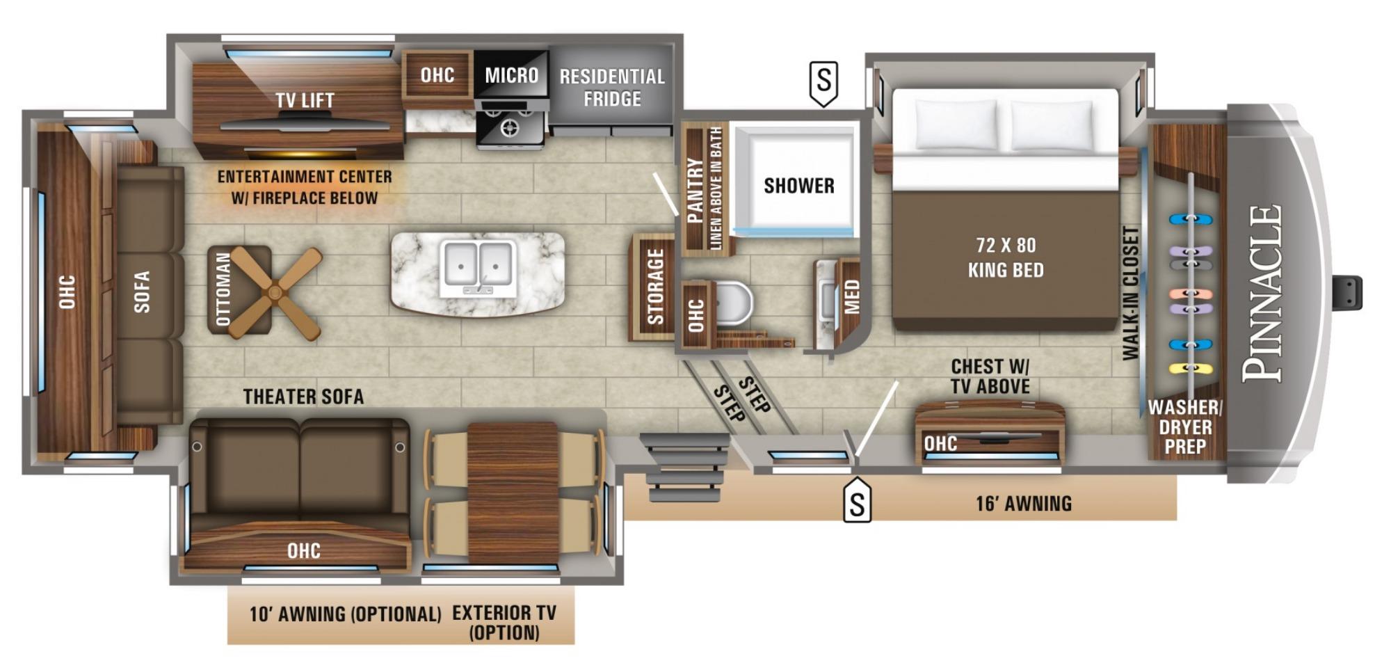Bedroom : 2019-JAYCO-32RLTS