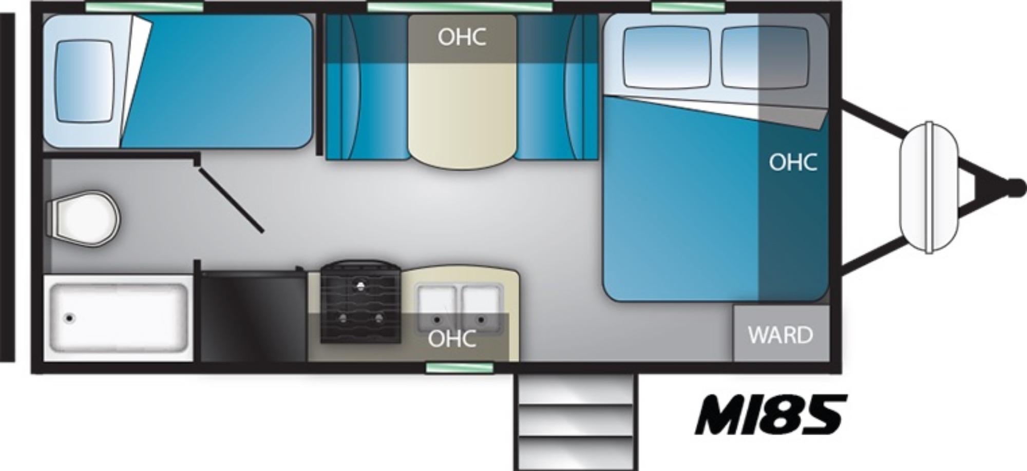 Exterior : 2020-HEARTLAND-M185