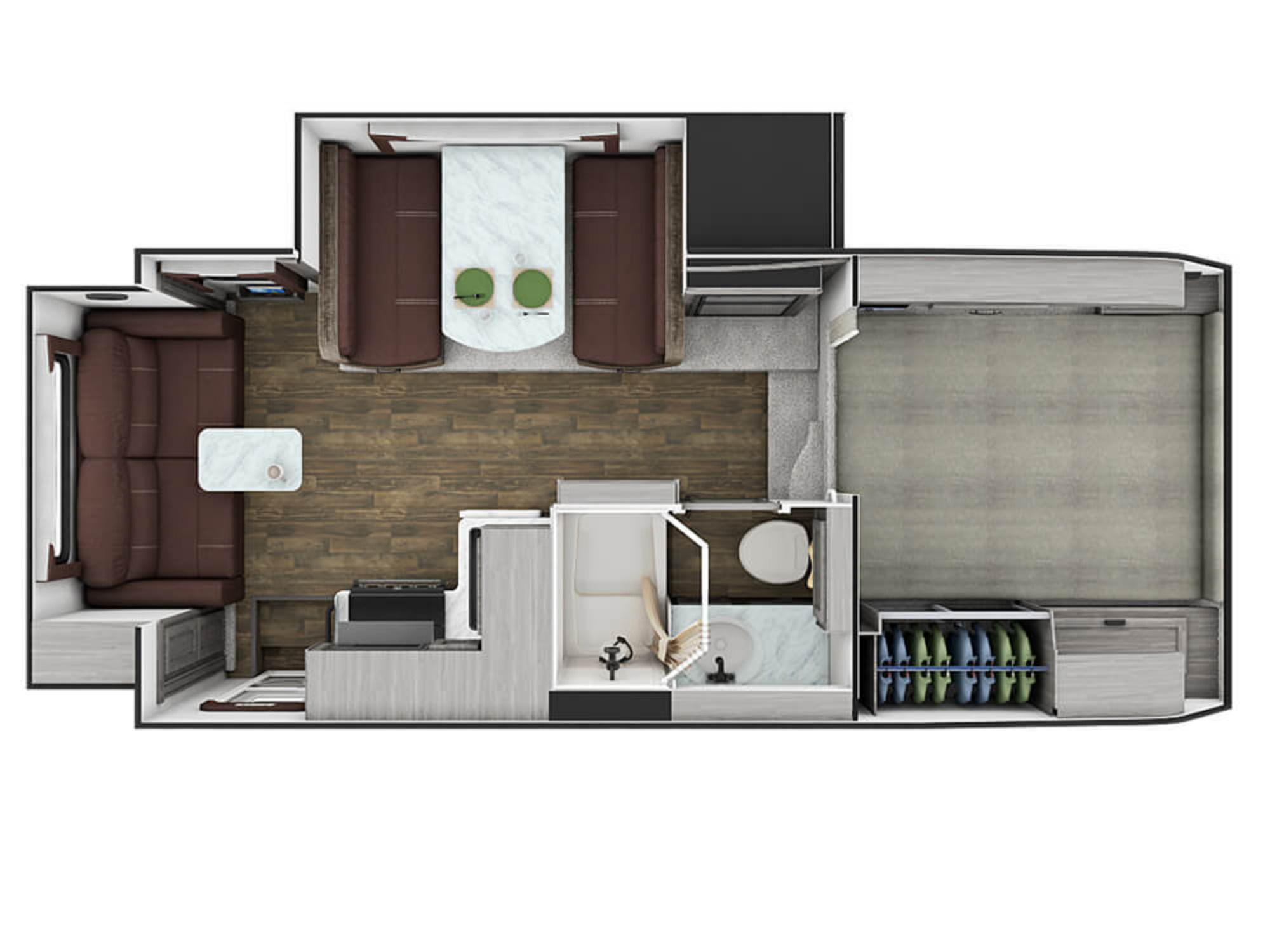 View Floor Plan for 2021 LANCE LANCE 1172